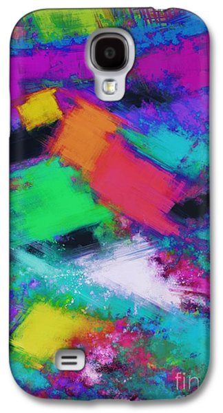 Loose Style Digital Art Galaxy S4 Cases - The selection Galaxy S4 Case by Keith Mills
