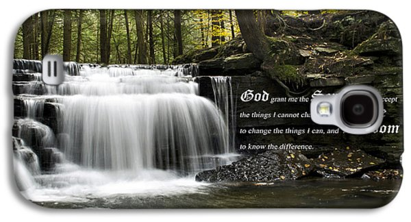 The Serenity Prayer Galaxy S4 Case by Christina Rollo