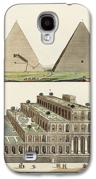 The Seven Wonders Of The World Galaxy S4 Case by Splendid Art Prints