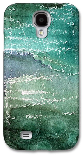 Office Art Galaxy S4 Cases - The Shallow End Galaxy S4 Case by Linda Woods
