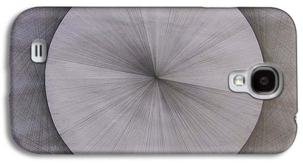 Light Drawings Galaxy S4 Cases - The Shape of Pi Galaxy S4 Case by Jason Padgett