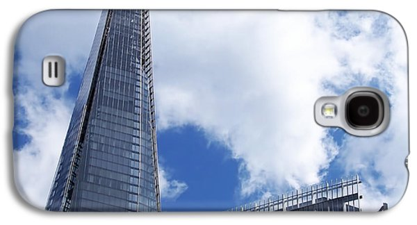 Steel Photographs Galaxy S4 Cases - The Shard and The Place - London Galaxy S4 Case by Rona Black