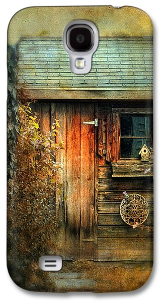 Spooky Digital Galaxy S4 Cases - The Shed Galaxy S4 Case by Jessica Jenney
