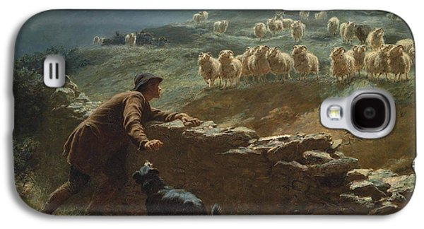 Briton Riviere Galaxy S4 Cases - The sheepstealer Galaxy S4 Case by Briton Riviere