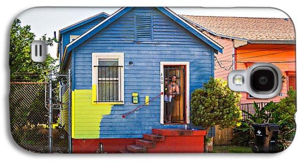 Painter Photo Photographs Galaxy S4 Cases - The Shotgun Decorator Galaxy S4 Case by Steve Harrington