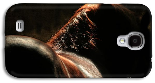 Horse Digital Galaxy S4 Cases - The Silhouette Galaxy S4 Case by Angel  Tarantella