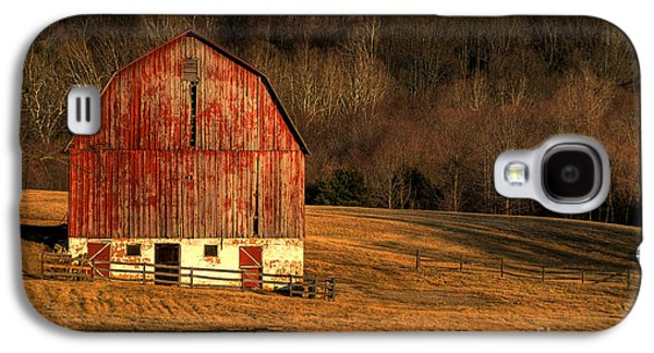 Old Barn Galaxy S4 Cases - The Simple Life Galaxy S4 Case by Lois Bryan