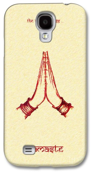 Praying Hands Galaxy S4 Cases - The Simple Things Galaxy S4 Case by Tim Gainey