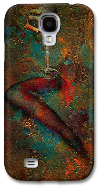 Wine Sipping Galaxy S4 Cases - The Sipper Galaxy S4 Case by Greg Sharpe