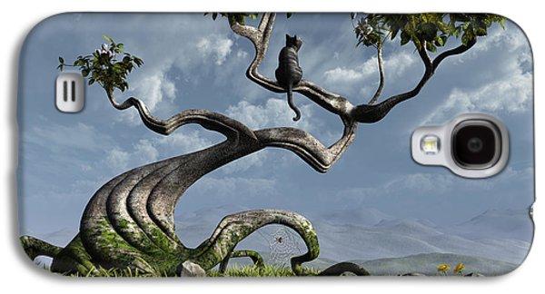 The Sitting Tree Galaxy S4 Case by Cynthia Decker