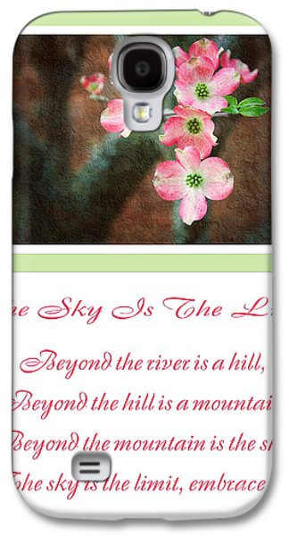 The Hills Mixed Media Galaxy S4 Cases - The Sky Is The Limit V 12 Galaxy S4 Case by Andee Design