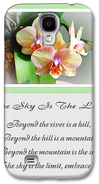 The Hills Mixed Media Galaxy S4 Cases - The Sky Is The Limit V 4 Galaxy S4 Case by Andee Design