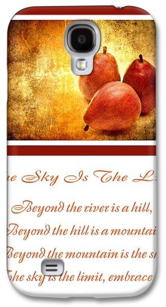 The Hills Mixed Media Galaxy S4 Cases - The Sky Is The Limit V 8 Galaxy S4 Case by Andee Design