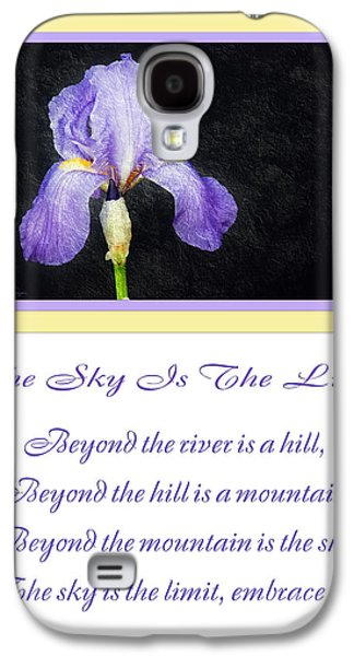 The Hills Mixed Media Galaxy S4 Cases - The Sky Is The Limit V 9 Galaxy S4 Case by Andee Design