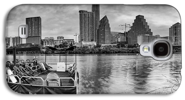 First Lady Galaxy S4 Cases - The Sky is will be crying Austin Texas Skyline Galaxy S4 Case by Silvio Ligutti