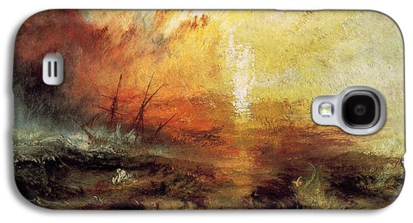 Slaves Galaxy S4 Cases - The Slave Ship 1840 Galaxy S4 Case by Joseph Mallord William Turner