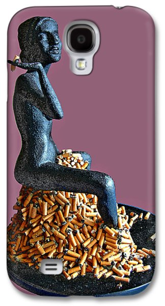 Nudes Sculptures Galaxy S4 Cases - The Smoker Galaxy S4 Case by James Igguu