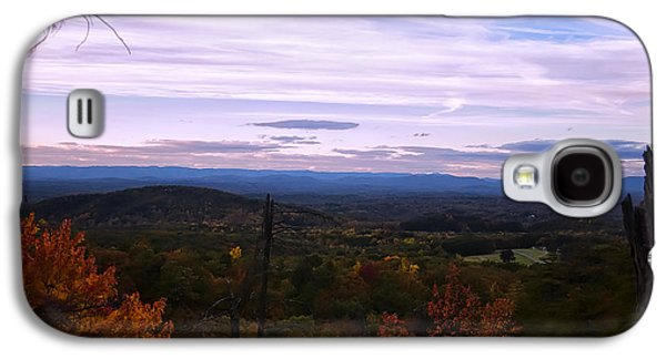 Landscape Posters Galaxy S4 Cases - The Smokey Mountains From Hanging Rock State Park Galaxy S4 Case by Chris Flees