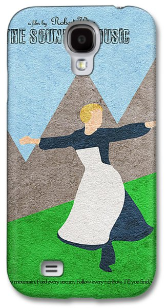 Sound Digital Galaxy S4 Cases - The Sound of Music Galaxy S4 Case by Ayse Deniz