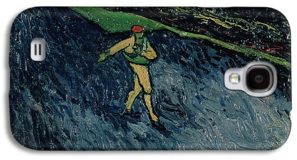 At Work Galaxy S4 Cases - The Sower Galaxy S4 Case by Vincent van Gogh