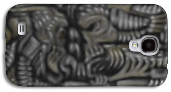 Machinery Galaxy S4 Cases - The space between Galaxy S4 Case by RJ Smuin