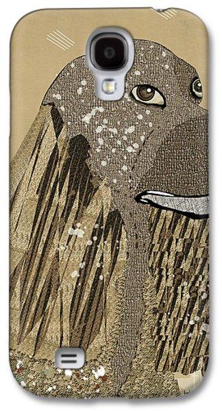 Dogs Digital Art Galaxy S4 Cases - The Spaniel Galaxy S4 Case by Bri Buckley