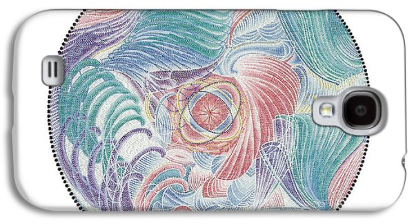 The Spark Of Life Galaxy S4 Case by Vanda Omejc