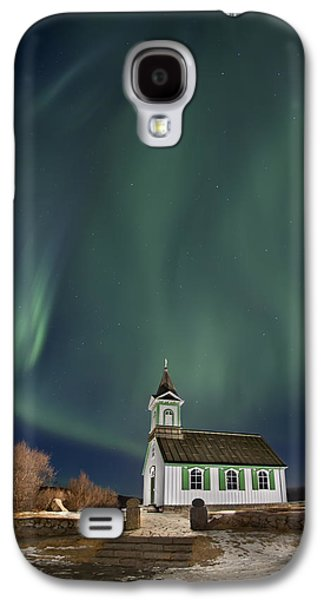Recently Sold -  - Light Galaxy S4 Cases - The Spirit of Iceland Galaxy S4 Case by Evelina Kremsdorf