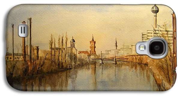 Deutschland Galaxy S4 Cases - The Spree Berlin Galaxy S4 Case by Juan  Bosco