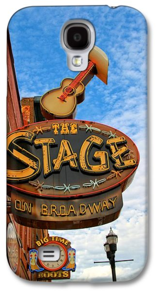 The Stage On Broadway Galaxy S4 Case by Dan Sproul