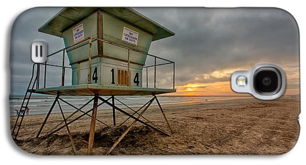 Beach Landscape Galaxy S4 Cases - The Stand Galaxy S4 Case by Peter Tellone