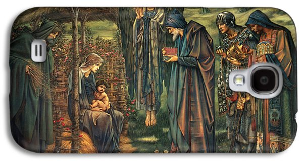 Star Of Bethlehem Galaxy S4 Cases - The Star of Bethlehem Galaxy S4 Case by Edward Burne-Jones