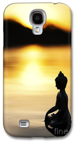 Thoughtful Photographs Galaxy S4 Cases - The Stillness of Sunrise Galaxy S4 Case by Tim Gainey