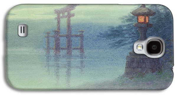 Mystic Galaxy S4 Cases - The Stone lantern cira 1880 Galaxy S4 Case by Aged Pixel