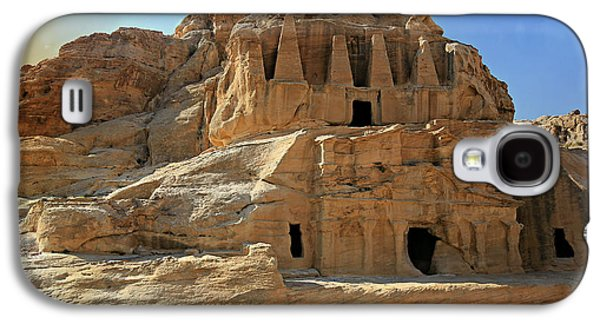 Nabatean Galaxy S4 Cases - The Stones Still Speak Galaxy S4 Case by Stephen Stookey
