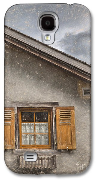 Swiss Drawings Galaxy S4 Cases - The storm Galaxy S4 Case by Carsten Reisinger