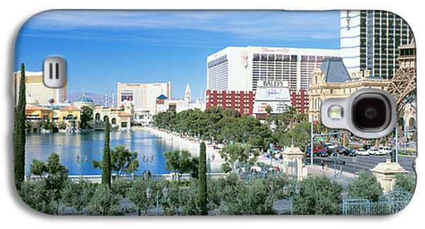 The Strip Galaxy S4 Cases - The Strip Las Vegas Nv Galaxy S4 Case by Panoramic Images