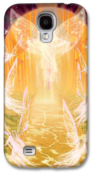 Sun Galaxy S4 Cases - The Summoning Galaxy S4 Case by Garry Walton