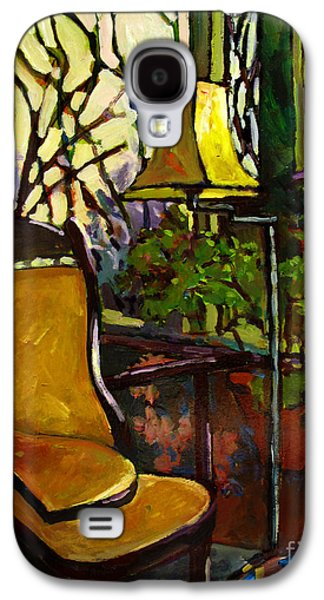 """""""indoor"""" Still Life Paintings Galaxy S4 Cases - The SUNROOM Galaxy S4 Case by Charlie Spear"""
