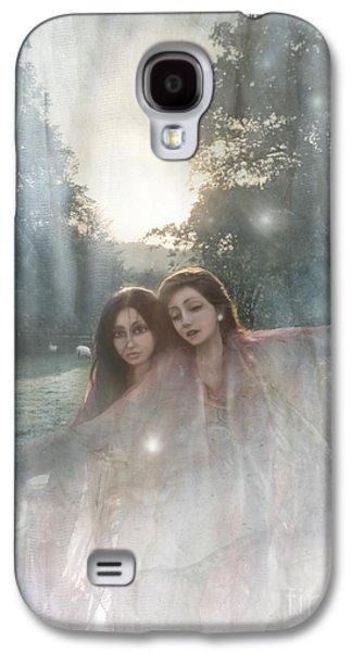 Sheep Digital Art Galaxy S4 Cases - The Sunset Dance Galaxy S4 Case by Angel  Tarantella