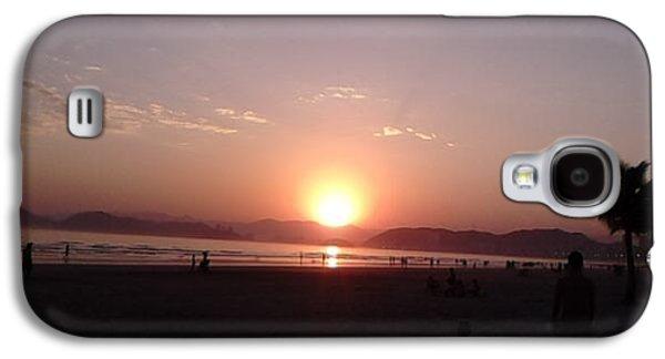 Beach Landscape Galaxy S4 Cases - The Sunset Galaxy S4 Case by Vera Radoja de Vasconcelos