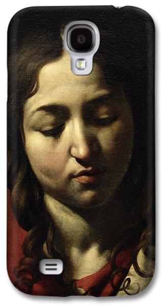 Caravaggio Galaxy S4 Cases - The Supper at Emmaus Galaxy S4 Case by Michelangelo Merisi da Caravaggio
