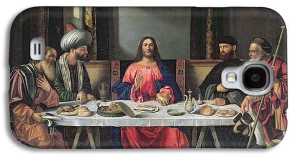 The Followers Galaxy S4 Cases - The Supper at Emmaus Galaxy S4 Case by Vittore Carpaccio