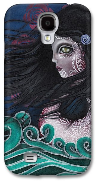 Swans... Paintings Galaxy S4 Cases - The Swan Galaxy S4 Case by  Abril Andrade Griffith