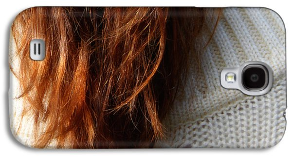 Hairstyle Digital Galaxy S4 Cases - The Sweater  Galaxy S4 Case by Steven  Digman