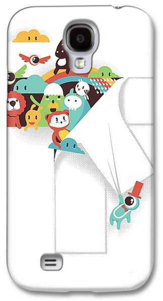 Monster Galaxy S4 Cases - The T in the Team Galaxy S4 Case by Budi Satria Kwan