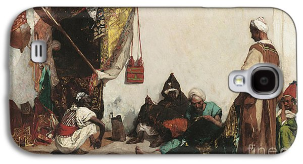 The Tailors Shop Galaxy S4 Case by Jean Joseph Benjamin Constant