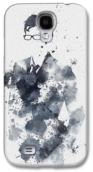 Police Art Galaxy S4 Cases - The Tenth Doctor Galaxy S4 Case by Rebecca Jenkins