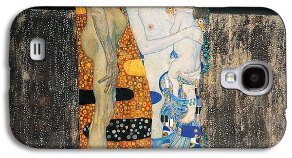 Connection Galaxy S4 Cases - The three ages of woman Galaxy S4 Case by Gustav Klimt