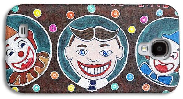 Asbury Park Paintings Galaxy S4 Cases - The Three Amigos Galaxy S4 Case by Patricia Arroyo